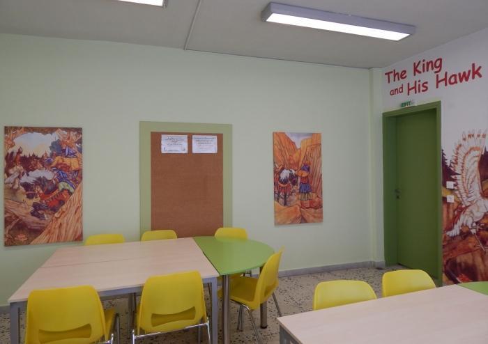 Αίθουσα Διδασκαλίας The King And His Hawk