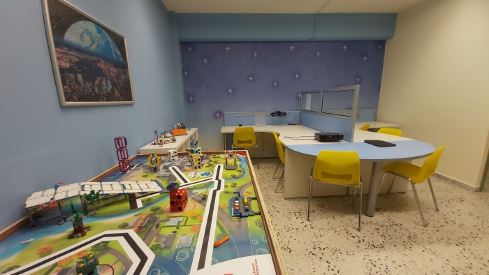Αίθουσα Εκπαιδευτικής Ρομποτικής